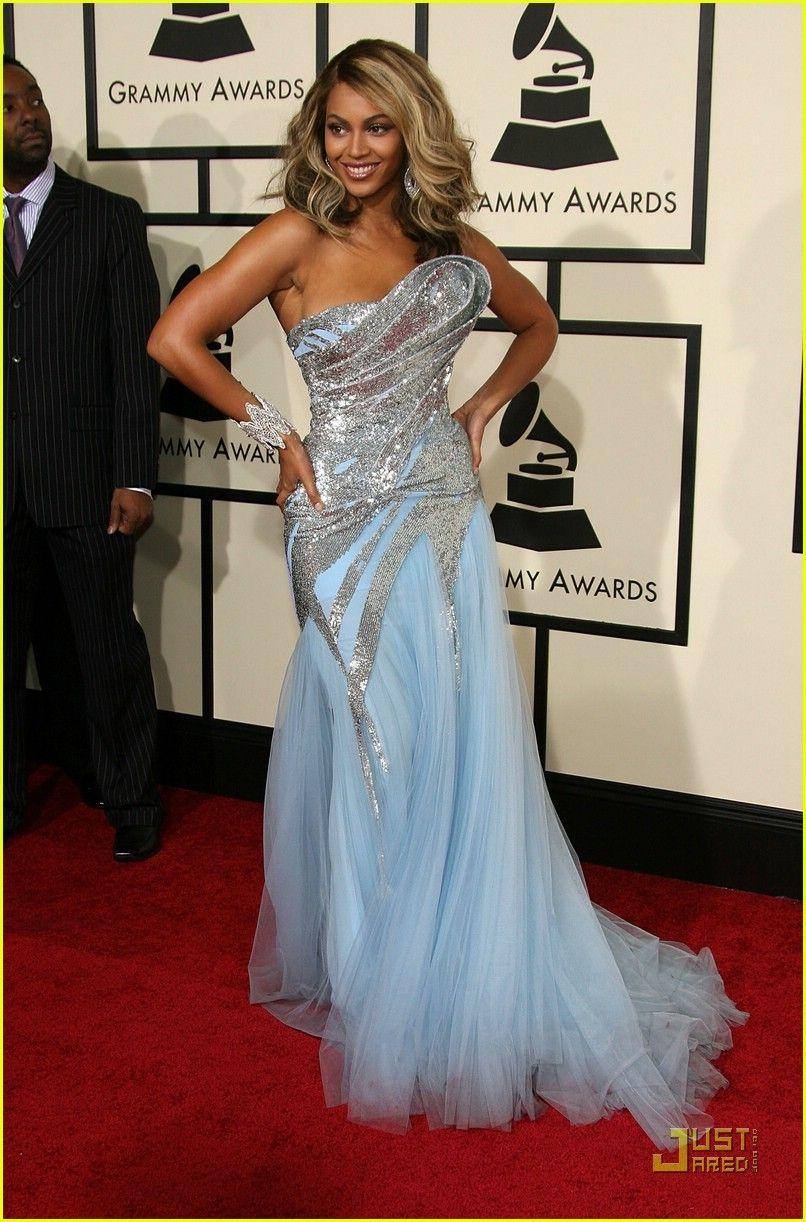 Beyonce @ Grammys 2008 | Vestidos de Gala de Famosos 3 | Pinterest ...