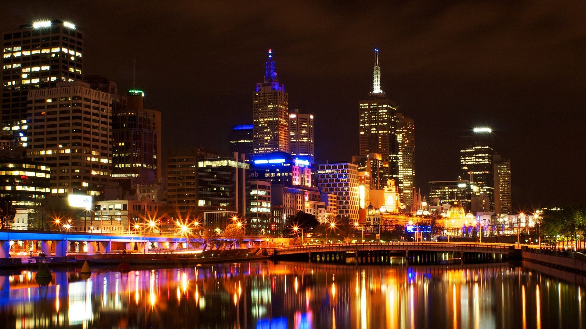 Melbourne Cityscape k HD World k Wallpapers Images Backgrounds
