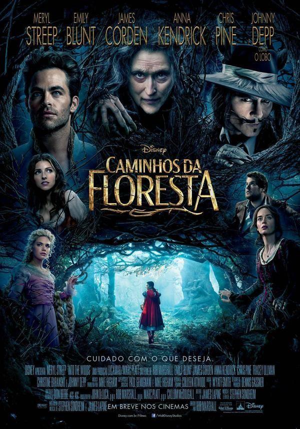 Caminhos Da Floresta Caminhos Da Floresta Filmes De Johnny Depp Filmes Da Disney
