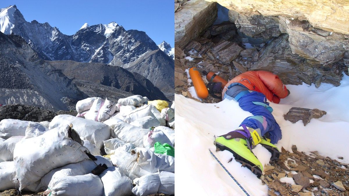 As Everest Melts Bodies Are Emerging From the Ice