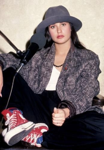 Sneakers · Demi Moore · Chuck Taylors · Flare · Kicks · demi  http   www3.images.coolspotters.com photos 335140 f0ad8f480