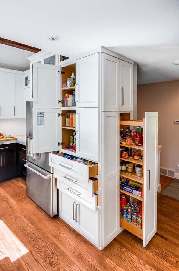 Innovative Space Saving Solutions For Your Kitchen Kitchen Design Open Transitional Kitchen Design Clever Kitchen Storage