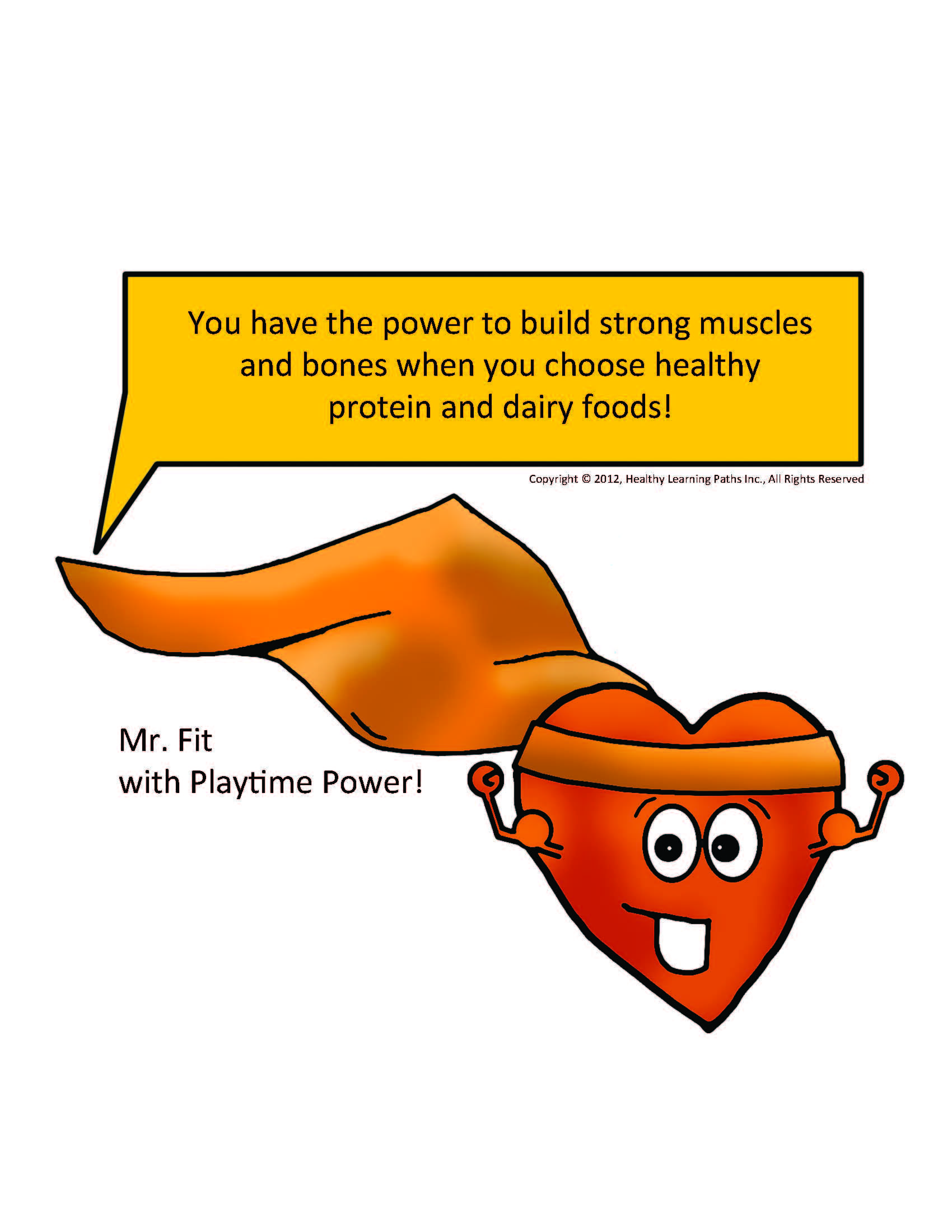 Meet Mr Fit With Playtime Power He Teaches Kids About