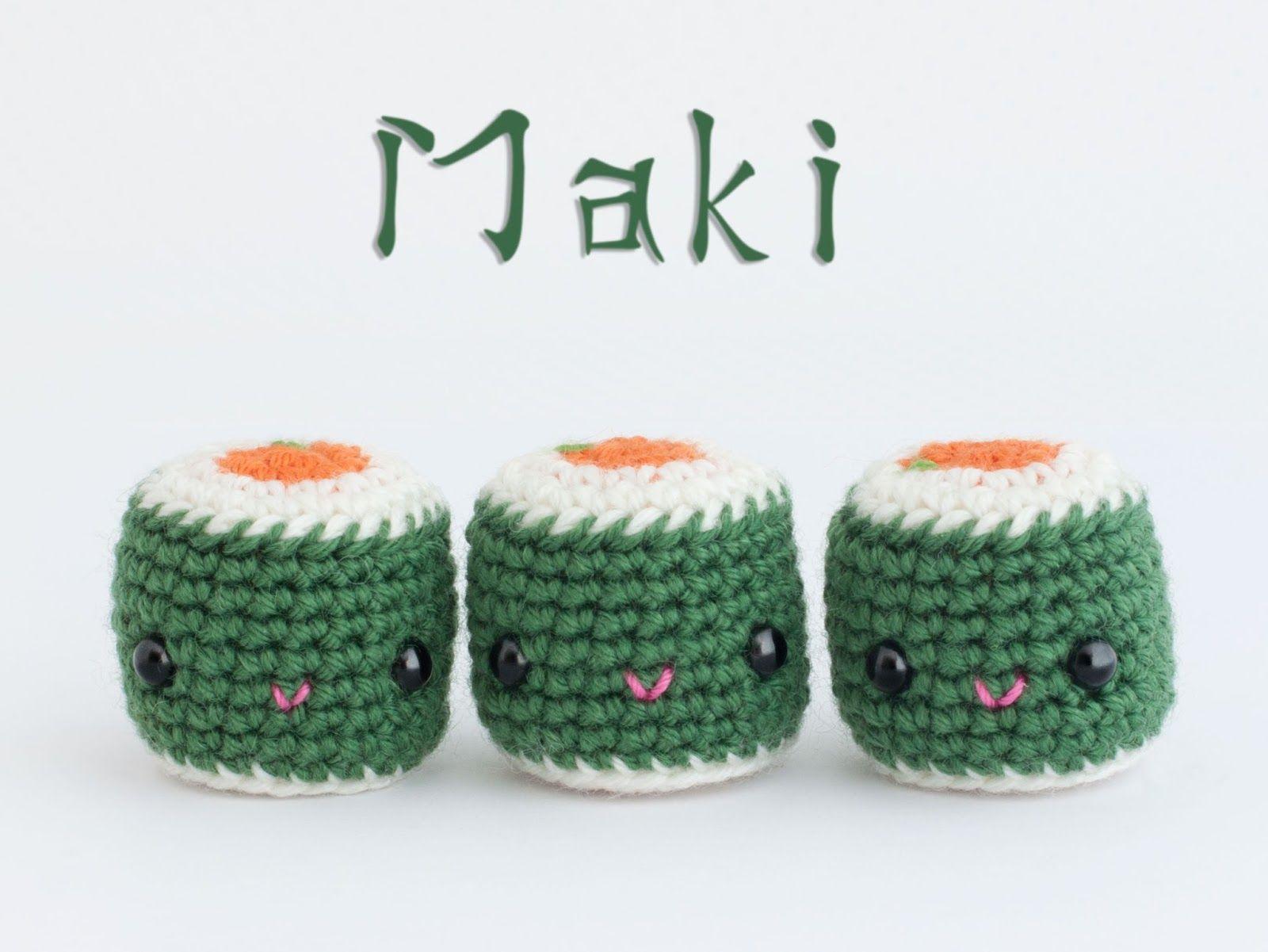 Amigurumi maki (free pattern) | Crocheted Toys/Amigurumi | Pinterest ...