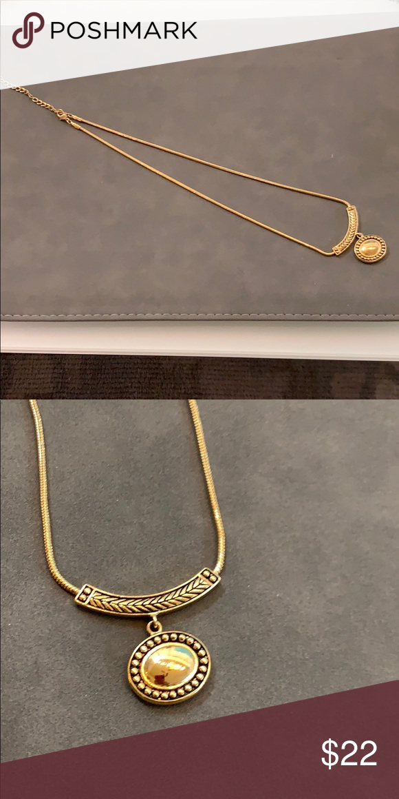 c394401fdabada Gold necklace with pendant Beautiful gold necklace Macy's Jewelry Necklaces