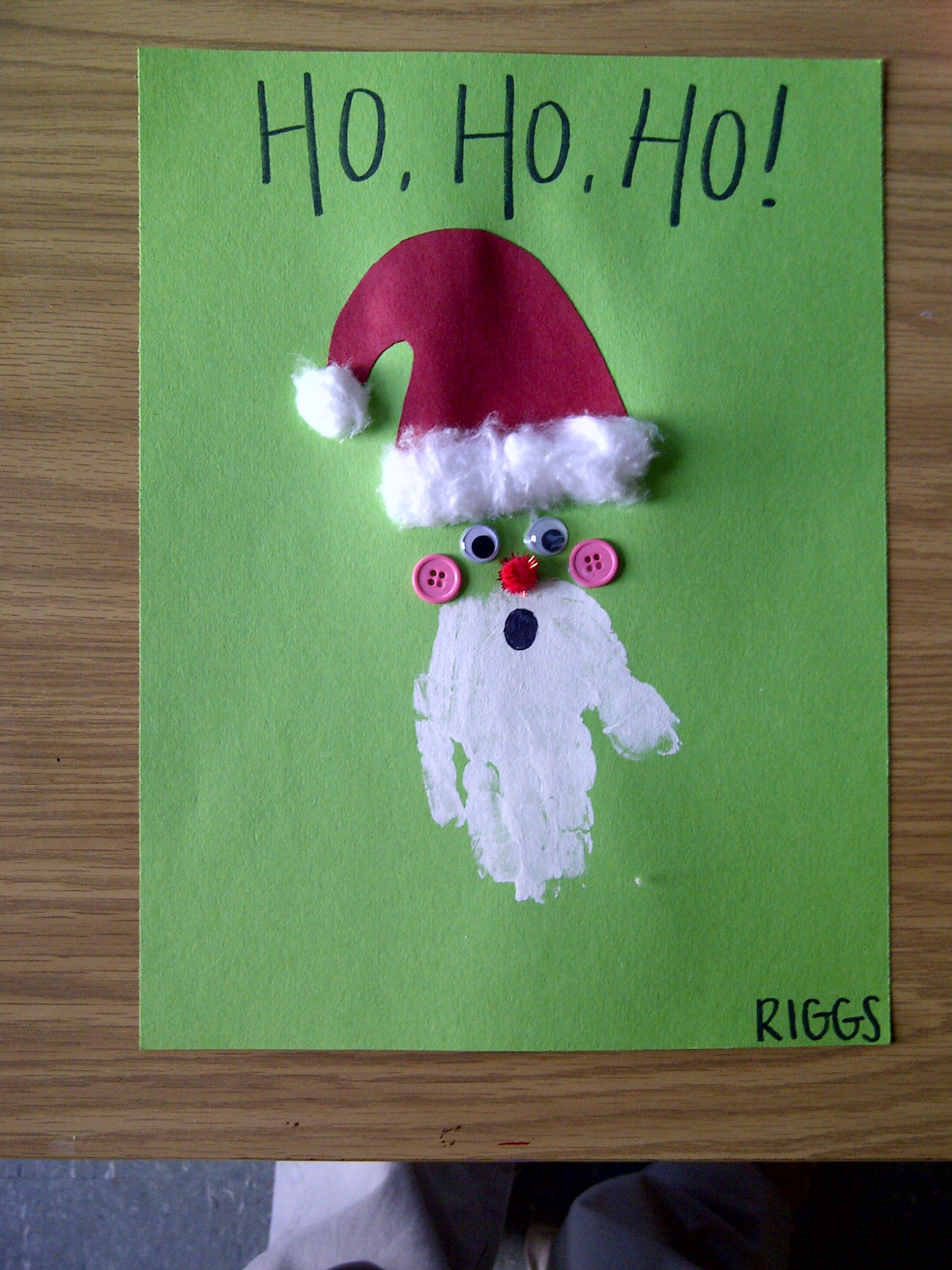 Handprint santa claus Future projects