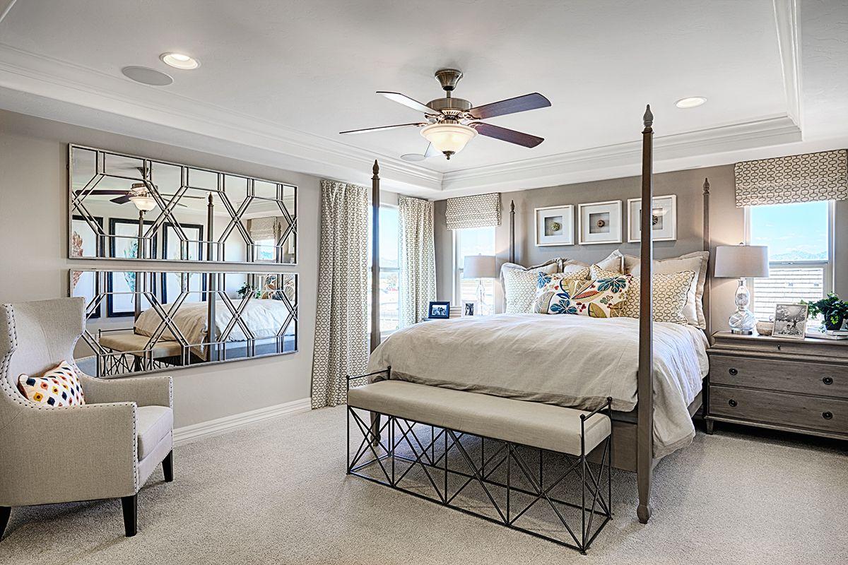 Best Elegant Four Poster Bed Tray Ceiling Abundant Natural 400 x 300