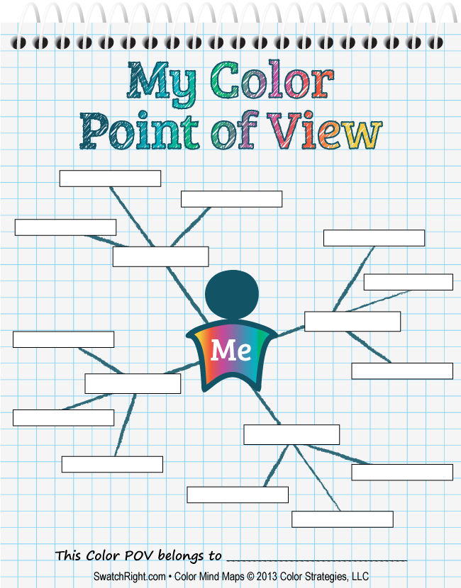 A mind map is a brilliant way to define or refine your color point a mind map is a brilliant way to define or refine your color point of view and perspective on color design read more defining a color point of view fandeluxe Gallery