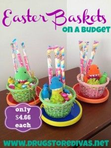 Happy easter easter baskets on a budget with oriental trading happy easter easter baskets on a budget with oriental trading items drugstore negle Choice Image