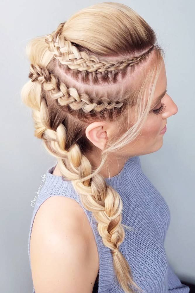 50 Types Of French Braid To Experiment With Lovehairstyles Hair Styles Braided Hairstyles For Wedding French Braid Hairstyles
