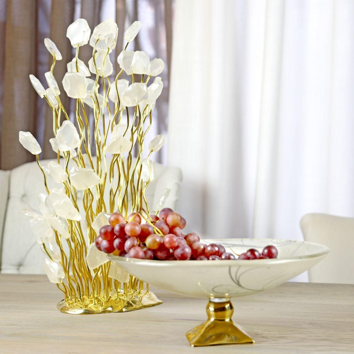 Annavasily Cagie Table Sculpture For Dining Table Decor