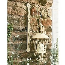 Candle Holder and Bracket £29.99  Ornate hanging candle holder with matching bracket.