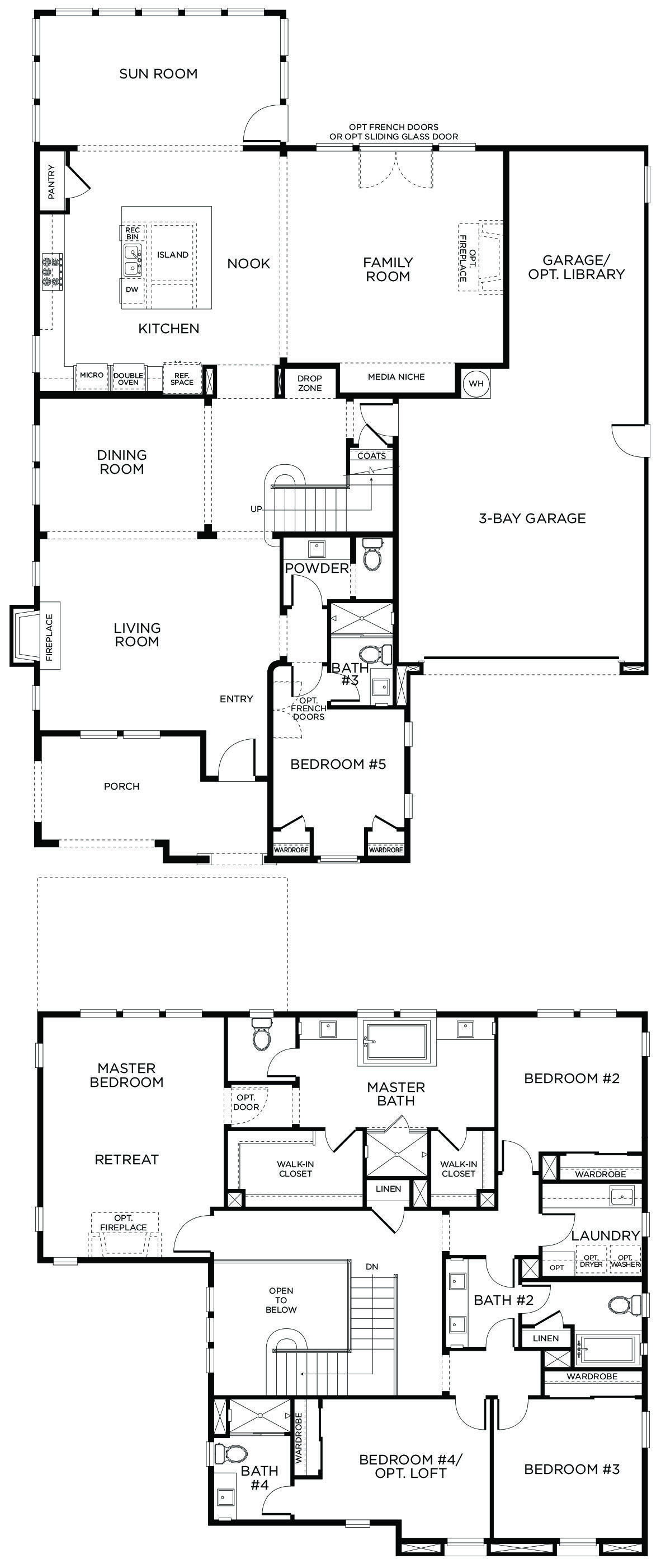 Tandem Garage House Plans Pin By Leona Hand On House Plans House Plans Bathroom Floor