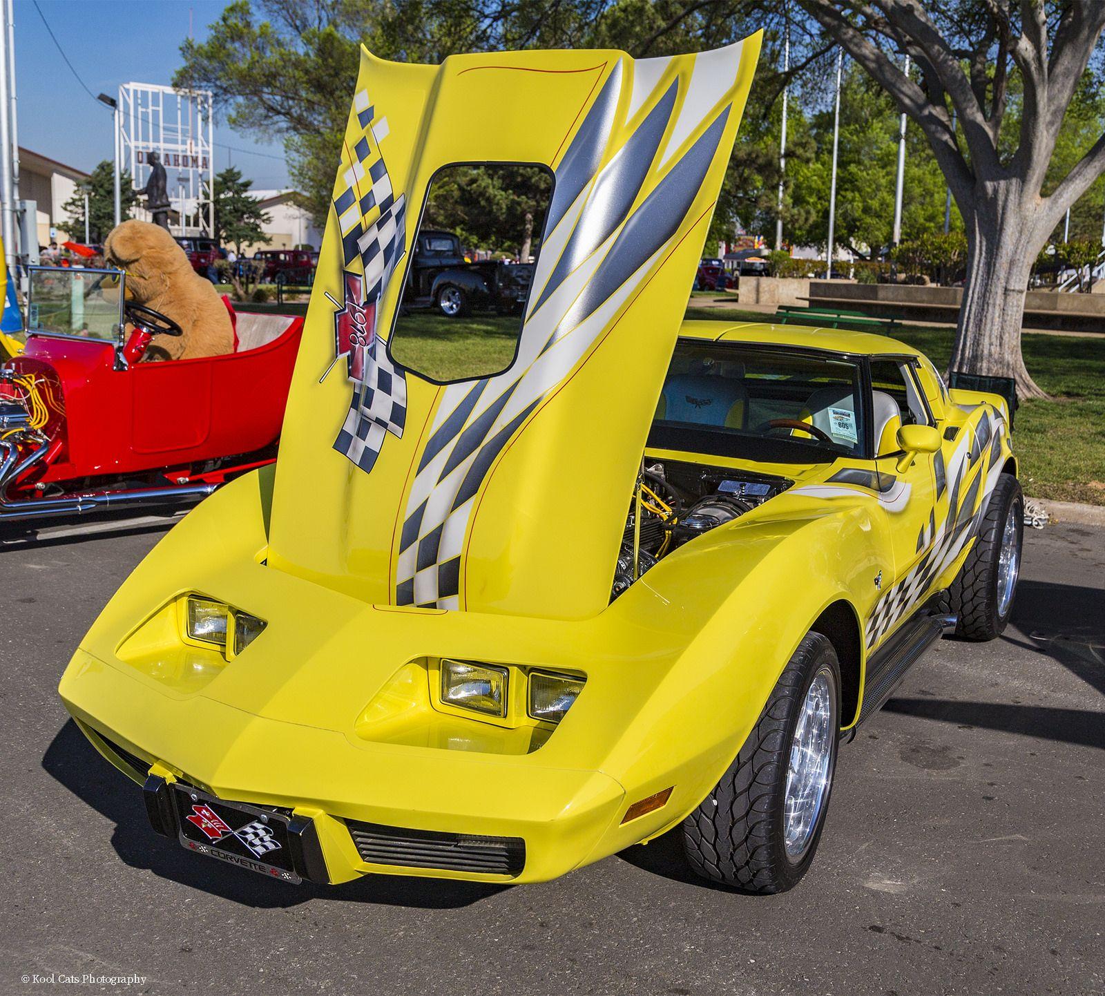 1978 Yellow Corvette Yellow Corvette Corvette Car Show