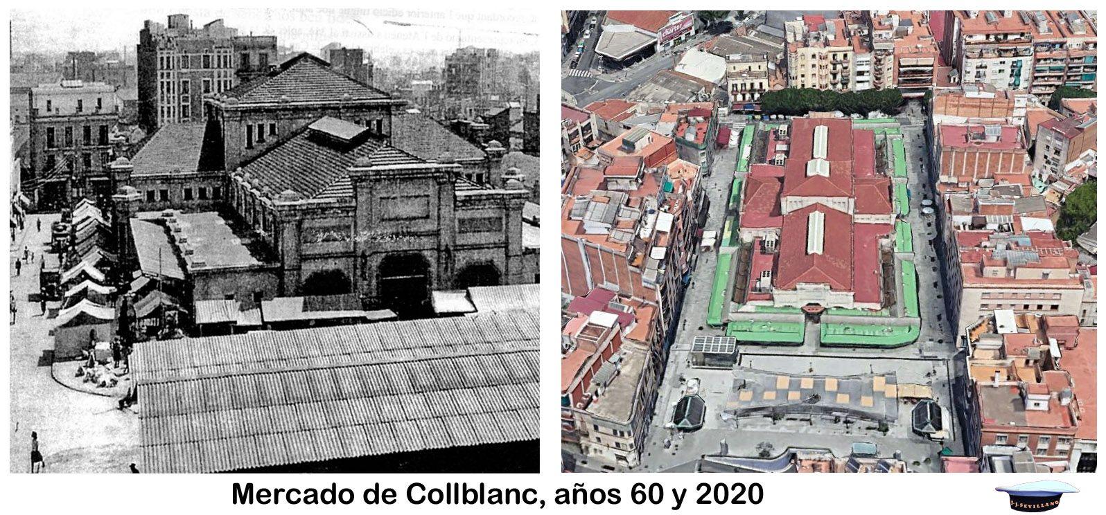 Mercado De Collblanc Años 60 Y 2020 Fotos De Barcelona Fotos Años 60