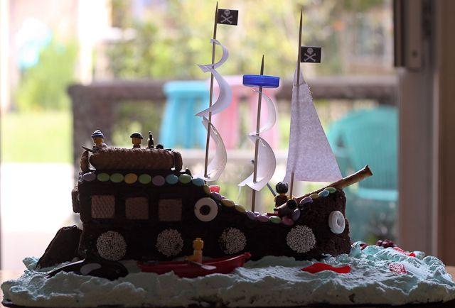pirate cake #cake #birthday parties #kids