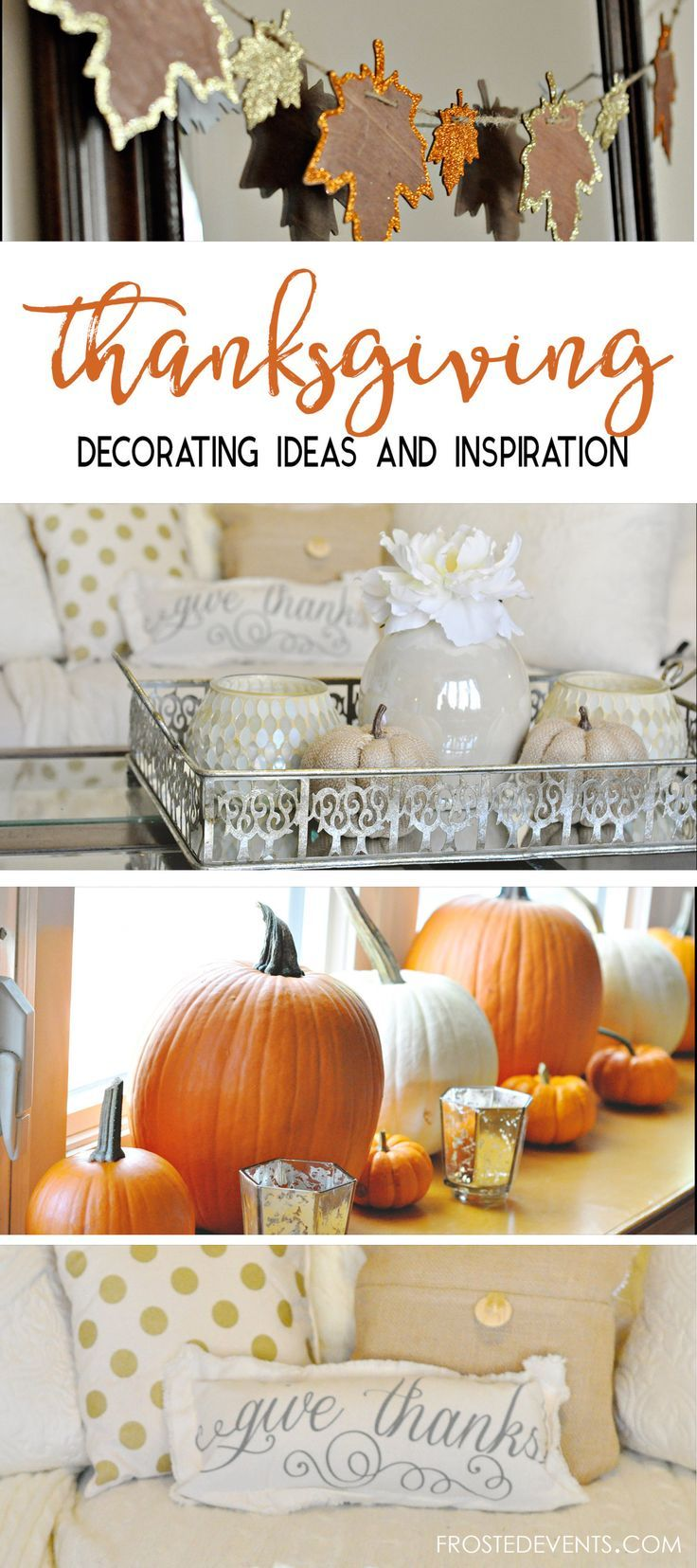 Thanksgiving Decor Ideas Thanksgiving Ideas