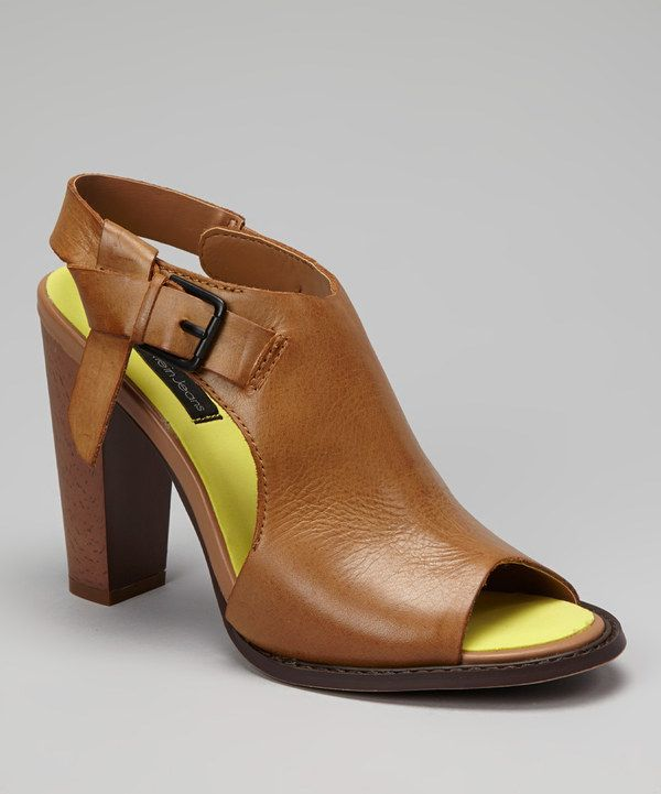Take a look at this Camel Burnished Sallie Sandal on zulily today!