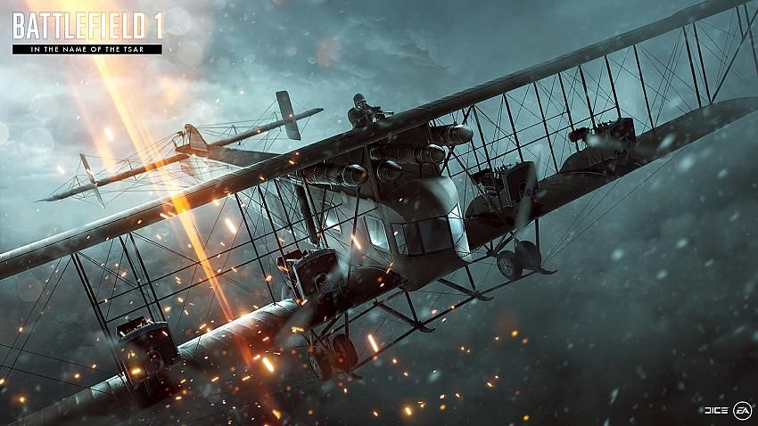 Battlefield 1 In The Name Of The Tsar Wallpaper Air Battlefield 1 Battlefield Visual Effects