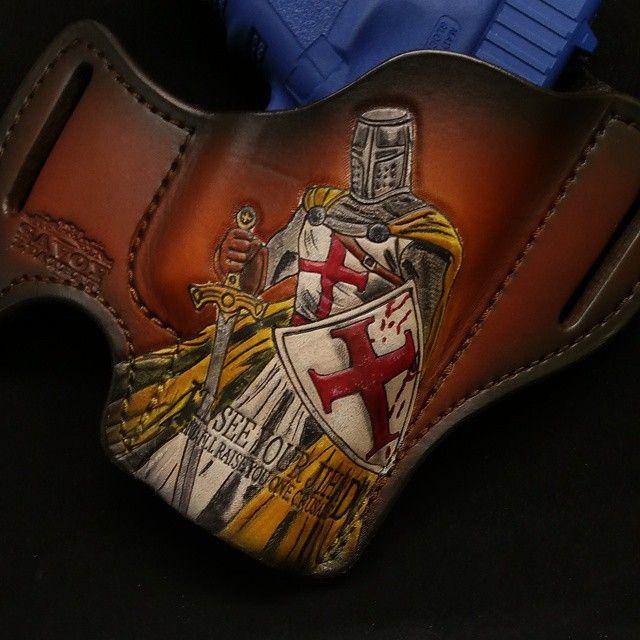 """The Crusader"" WWW.SAVOYLEATHER.COM"