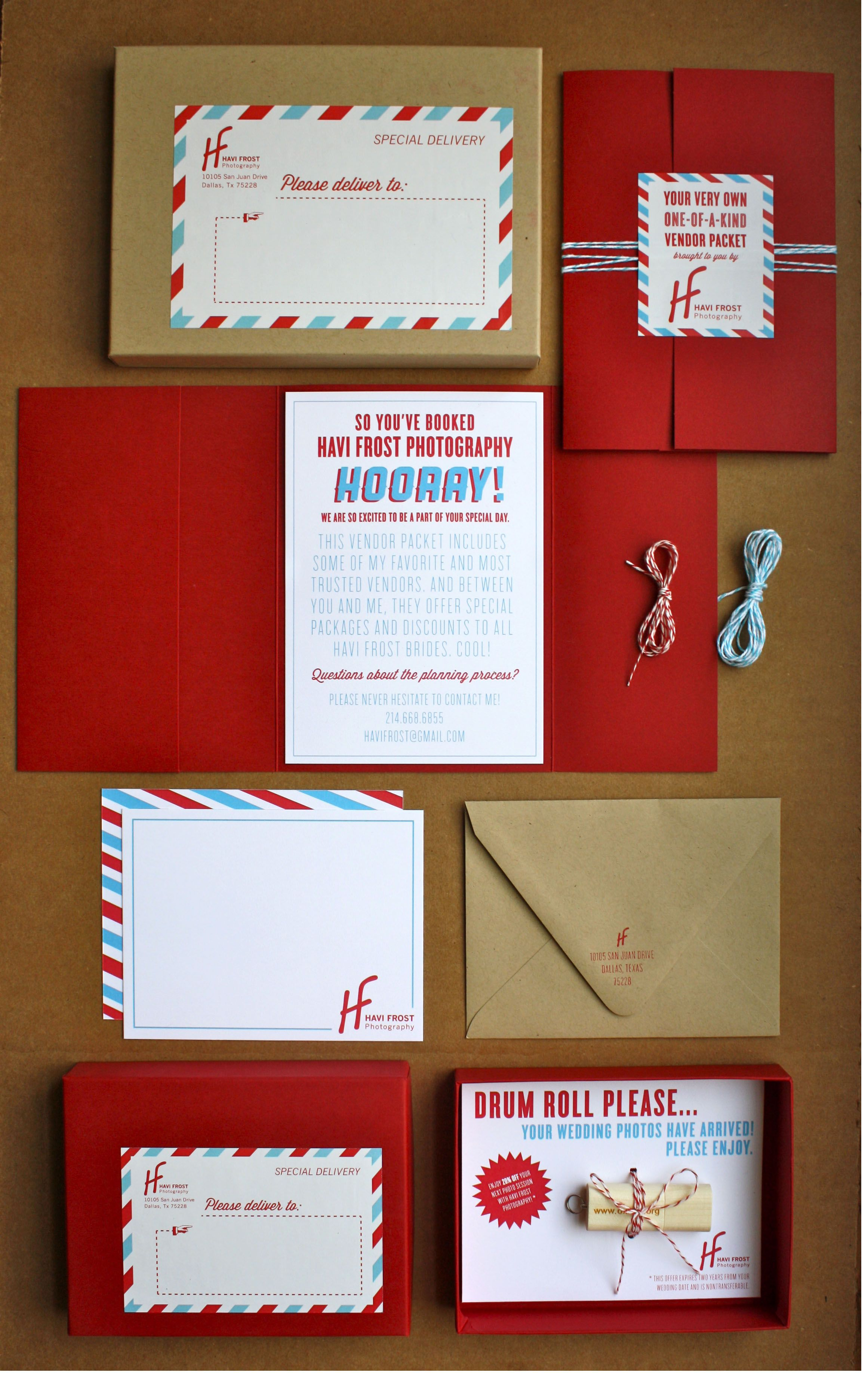 Packaging idea for Christmas cards