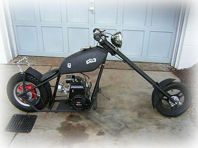 old minibike choppers wally 39 s speed shop making a. Black Bedroom Furniture Sets. Home Design Ideas