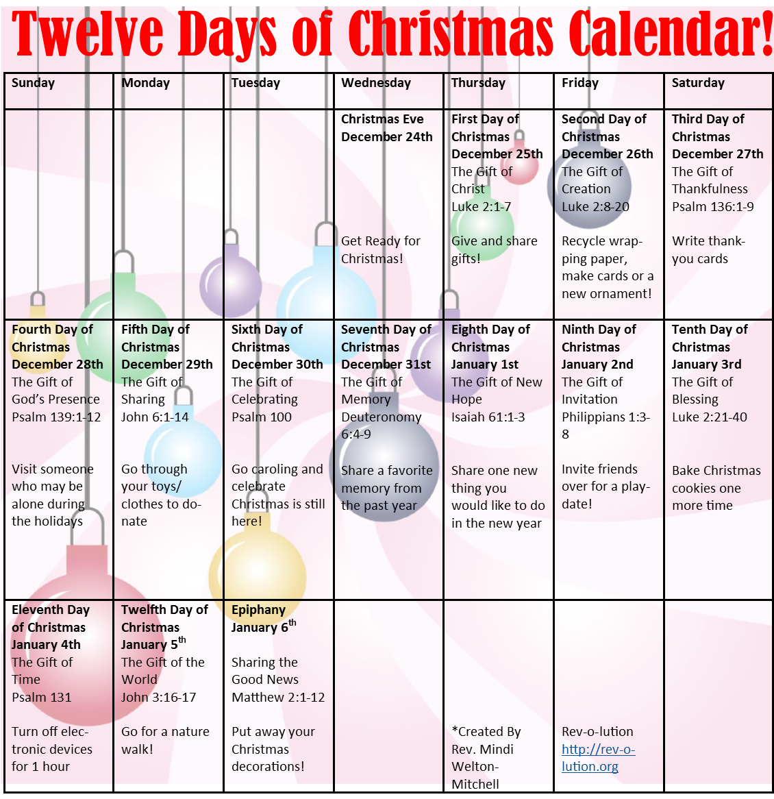 12 Days Of Christmas Calendar New 2014 2015 Christmas Printable Templates Christmas Calendar 12 Days Of Christmas