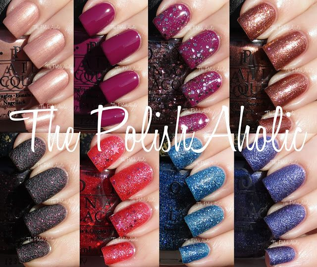 The PolishAholic: OPI Mariah Carey Collection Swatches. Glitters ...