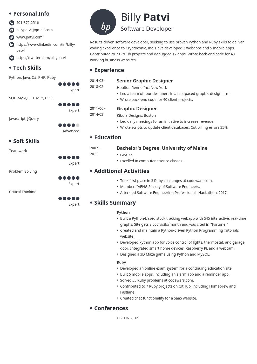 career change resume template initials in 2020 Career