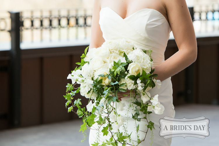 Brides bouquets come in various shapes and sizes. Our florists will custom design your wedding flower bouquet. Call or email for a free consultation.