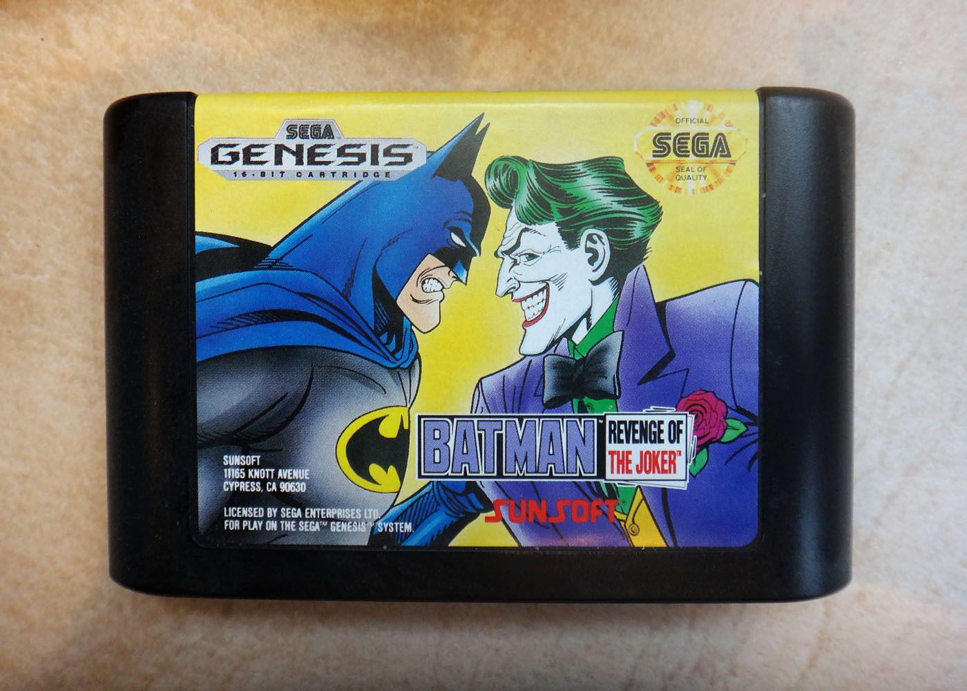 Batman Revenge Of The Joker Sega Genesis 1992 100 Complete