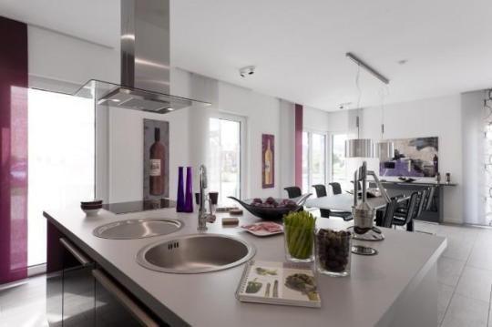 Küche und Essbereich zusätzlich noch eine Nische im Essbereich - bar für küche
