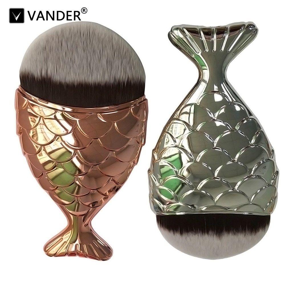 Vander Vs 2017 Rose Gold Single Fish Foundation Makeup
