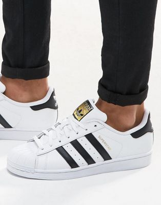 020a1f15a adidas Originals Superstar sneakers in white c77124 in 2019