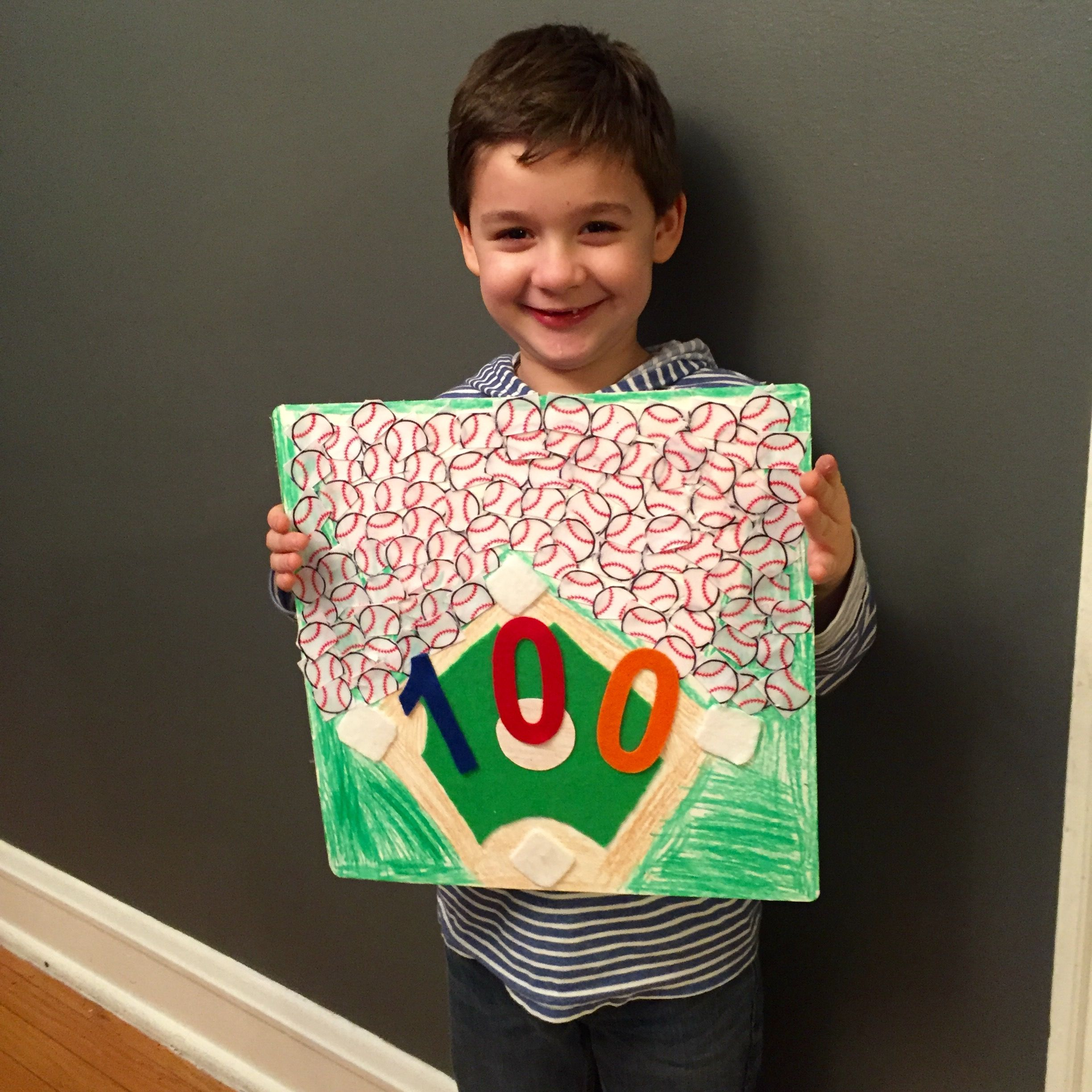 Kindergarten 100th Day Of School Project