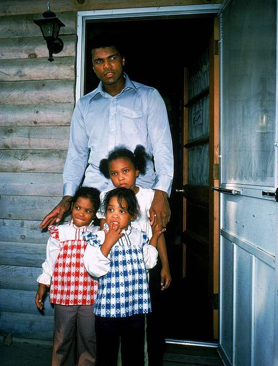 Laila Ali And Muhammad Ali Jr Muhammad Ali has 9 chi...