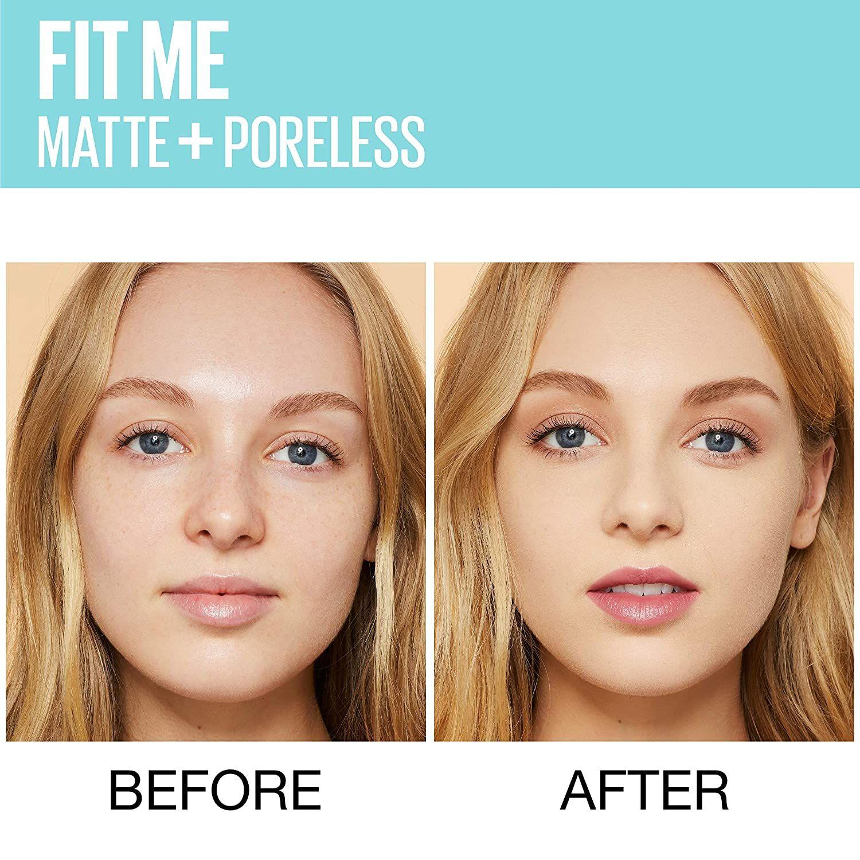 #Maybelline Fit Me Matte + Poreless Liquid Foundation Makeup, #Natural Ivory, 1 fl. oz. Oil-Free #Best Foundation by Maybelline #NewYork #foundation #makeup #lipstick #eyeshadow #beauty #makeupartist #concealer #cosmetics #mua #skincare #eyeliner #mascara #eyebrows #lashes #serum #lipmatte #makeuptutorial #beautiful #fashion #instamakeup #lips #powder #foundationmurah #eyes #makeuplover #cosmetic #highlighter #glitter #kosmetik