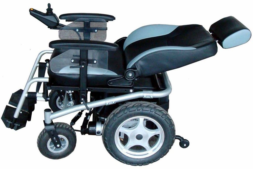 Motorized Wheelc Air Jazzy 600 Electric Wheelchair