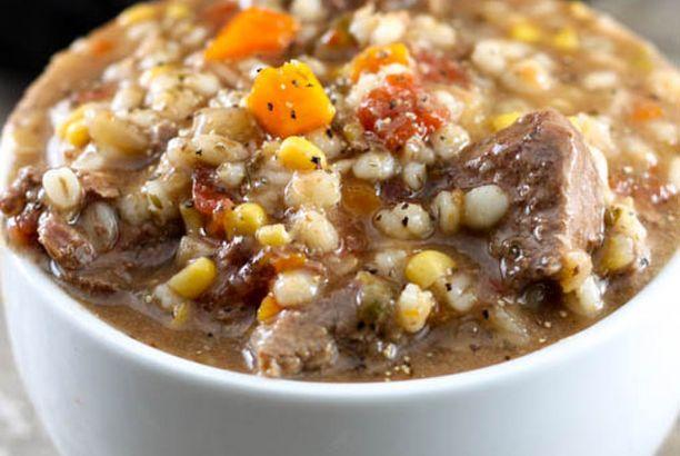 Gramma's Beef Barley Soup - Instant Pot Recipe (The Farm ...