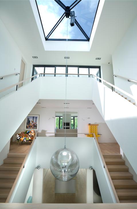 Interieur villa in Het Gooi   Nederland. Ontwerp van Studio Jan des ...
