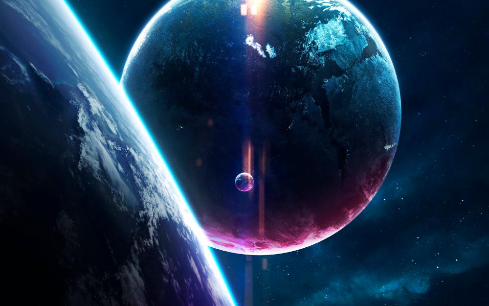Top 10 Blender Artworks From October 2017 Blender Guru Space Art Planets Nebula