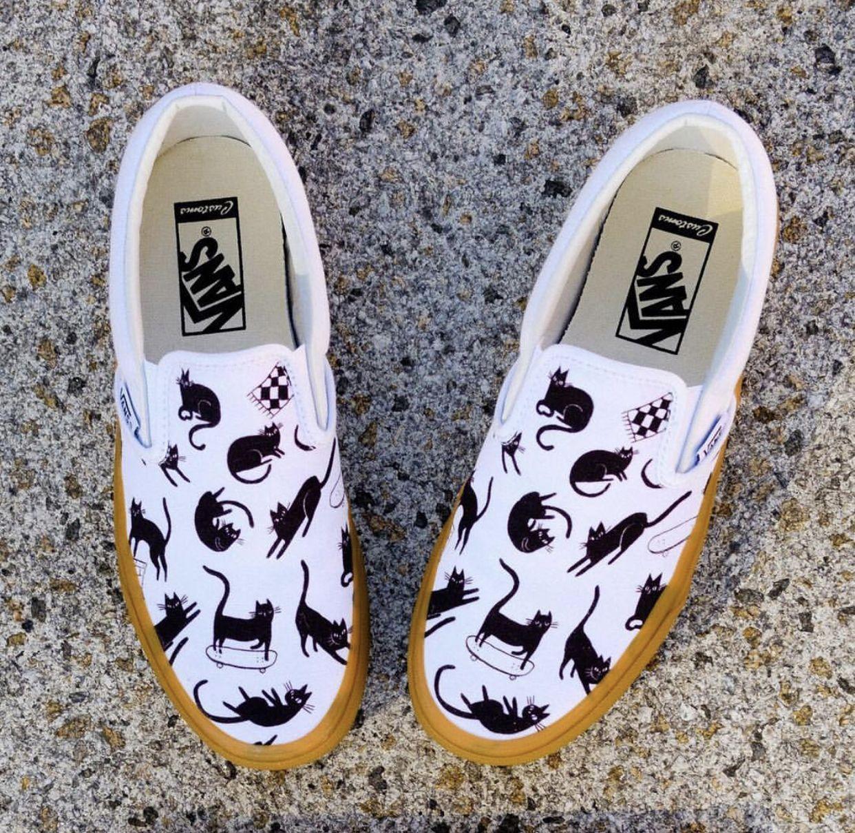 Pin by Rylee Thompson on Vans | Vans, Vans classic slip on