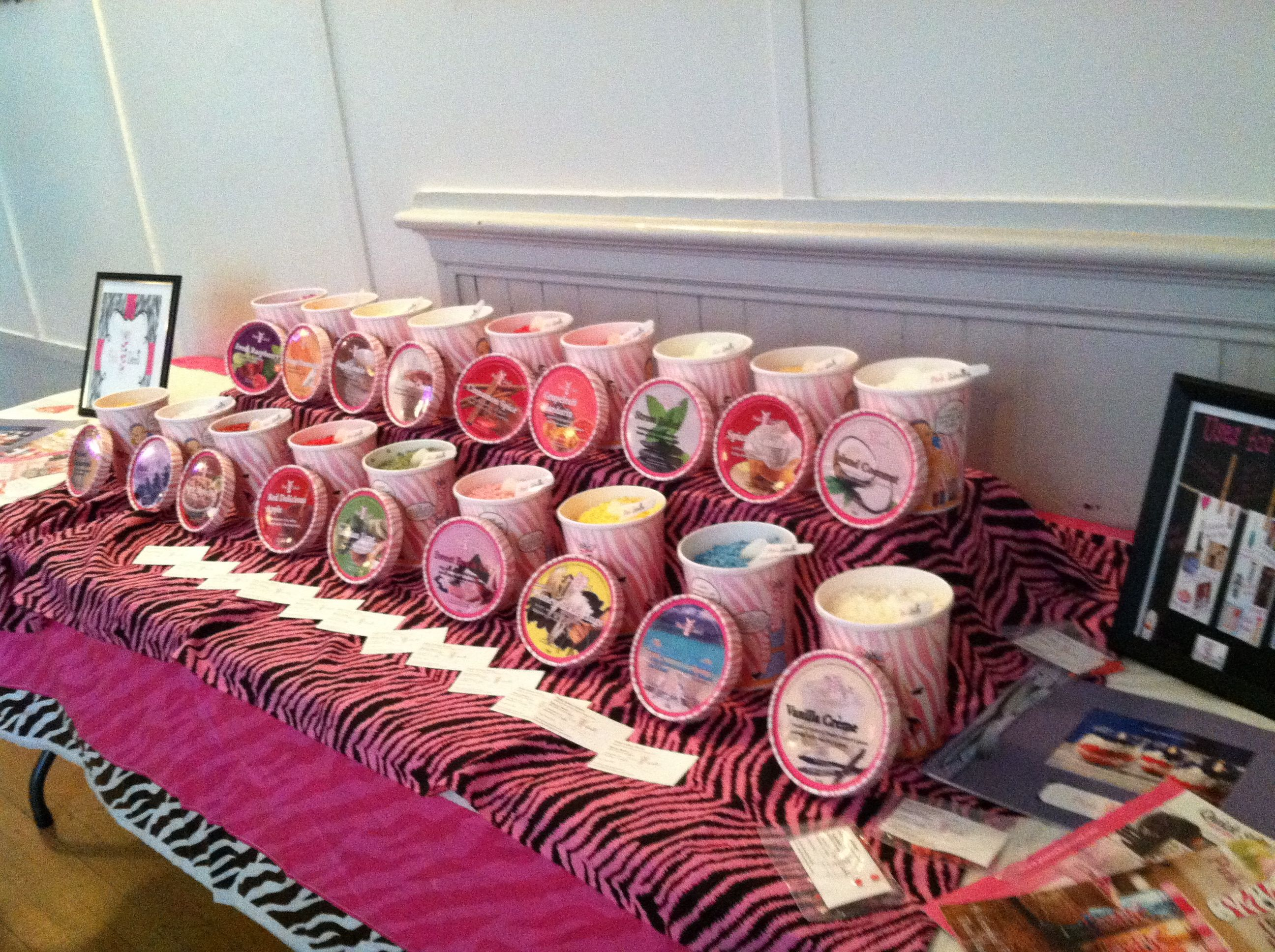 can\'t wait to have a Pink Zebra candle bar at my wedding as favors ...
