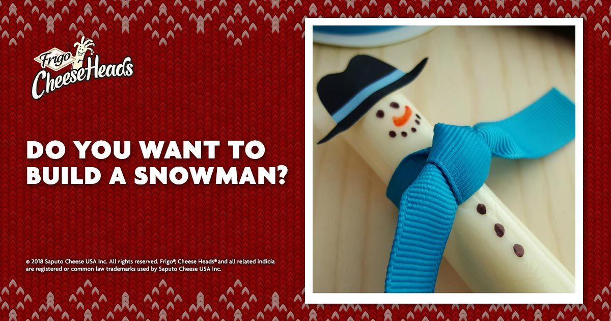 Cheese Stick Snowmen with FREE Printable Top Hat Recipes Snacks