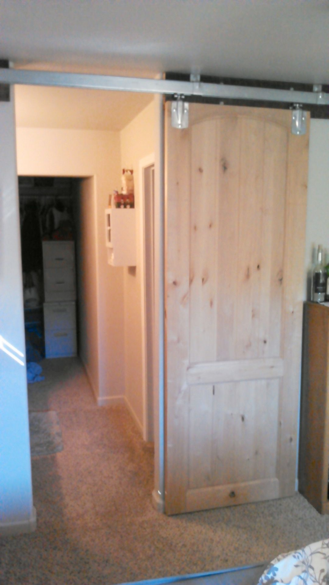 Pin On My Diy Sliding Barn Door