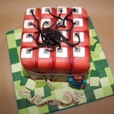 Afbeeldingsresultaat voor minecraft taart