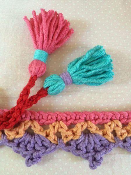 Haekelfieber Borte Korb 8 Crochet Projects Pinterest Borte