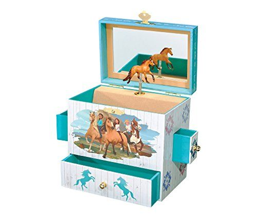 Horse Jewelry Box Breyer Spirit Riding Free  Spirit And Lucky Musical Horse Jewelry
