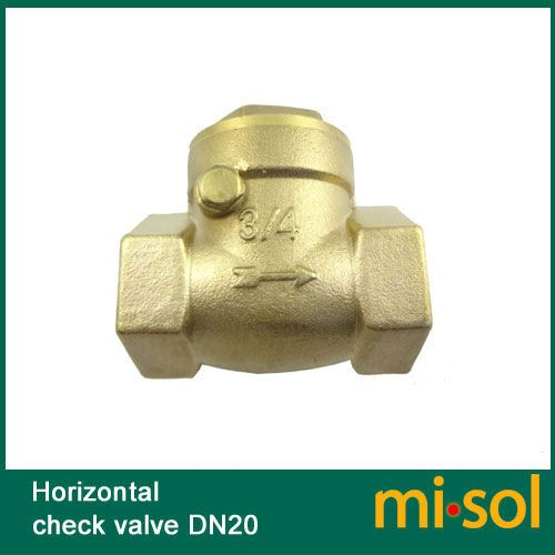 1 pcs of horizontal check valve, 3 4