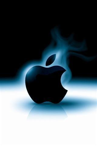 Wallpaper iPhone Smokin' Apple 4839